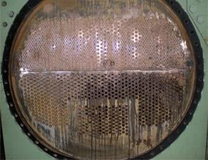 Corroded heat exchanger
