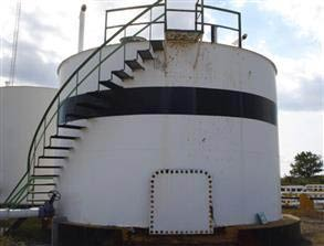 Storage tank 10 years after application